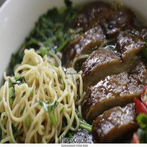Photo of Loving Hut - Bankstown  by neeeo <br/>veggie Duck noodle soup  <br/> December 15, 2009  - <a href='/contact/abuse/image/19630/3113'>Report</a>