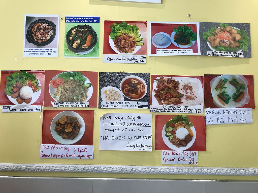 """Photo of Loving Hut - Bankstown  by <a href=""""/members/profile/happy_phiphi"""">happy_phiphi</a> <br/>Popular dishes <br/> February 7, 2018  - <a href='/contact/abuse/image/19630/356005'>Report</a>"""
