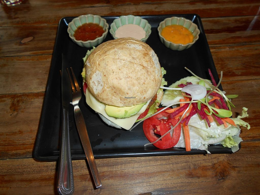 "Photo of Juicy4U  by <a href=""/members/profile/Kelly%20Kelly"">Kelly Kelly</a> <br/>Juicy4U, Chiang Mai 12, Veggie Burger <br/> April 12, 2016  - <a href='/contact/abuse/image/19633/144231'>Report</a>"