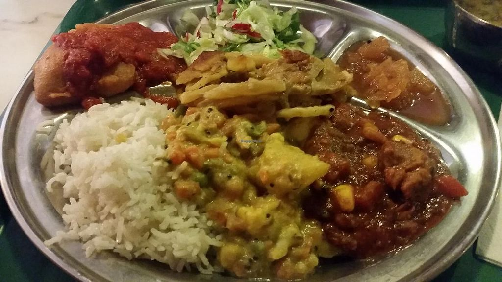 "Photo of Govindas - Odenplan  by <a href=""/members/profile/kenvegan"">kenvegan</a> <br/>large plate <br/> May 25, 2015  - <a href='/contact/abuse/image/19671/103365'>Report</a>"