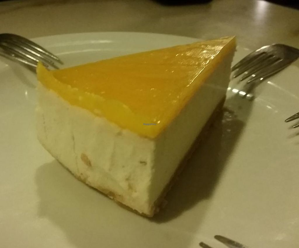 "Photo of Govindas - Odenplan  by <a href=""/members/profile/kenvegan"">kenvegan</a> <br/>vegan cheesecake <br/> May 25, 2015  - <a href='/contact/abuse/image/19671/246495'>Report</a>"