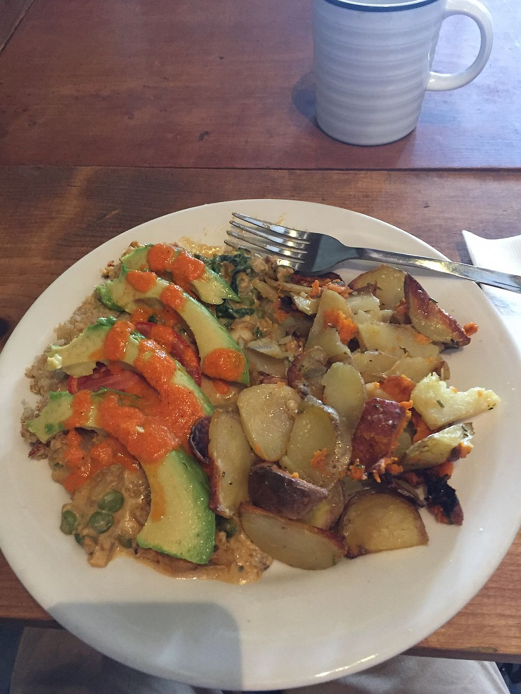 "Photo of Elderberries Cafe  by <a href=""/members/profile/WolfPatrick"">WolfPatrick</a> <br/>Vegan Frittata!!! <br/> July 25, 2017  - <a href='/contact/abuse/image/19682/284504'>Report</a>"