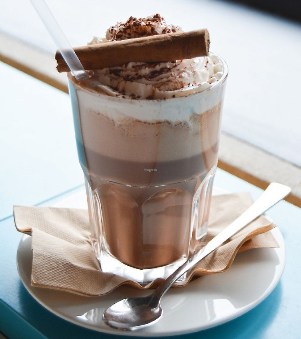"""Photo of Funky Fresh Cafe  by <a href=""""/members/profile/Nais23"""">Nais23</a> <br/>Hot chocolate <br/> March 19, 2017  - <a href='/contact/abuse/image/19711/240524'>Report</a>"""