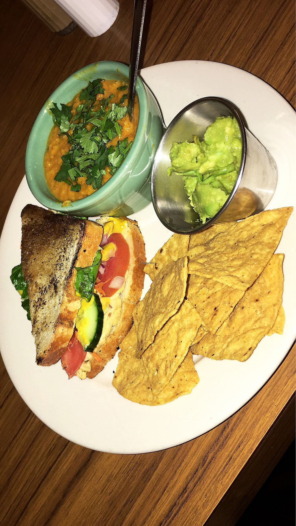 "Photo of Red Herring - temporarily closed  by <a href=""/members/profile/haley_singer"">haley_singer</a> <br/>Hummus and veggie sandwhich with lentil sou <br/> January 29, 2018  - <a href='/contact/abuse/image/1971/352250'>Report</a>"