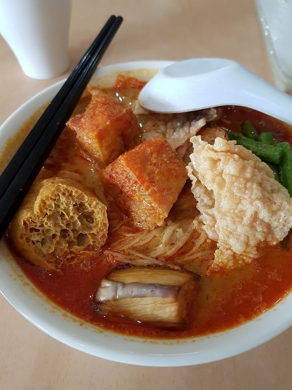 """Photo of Jing Si Vegetarian  by <a href=""""/members/profile/Raycklim01%40gmail.com"""">Raycklim01@gmail.com</a> <br/>curry noodle  <br/> May 9, 2017  - <a href='/contact/abuse/image/19728/257310'>Report</a>"""