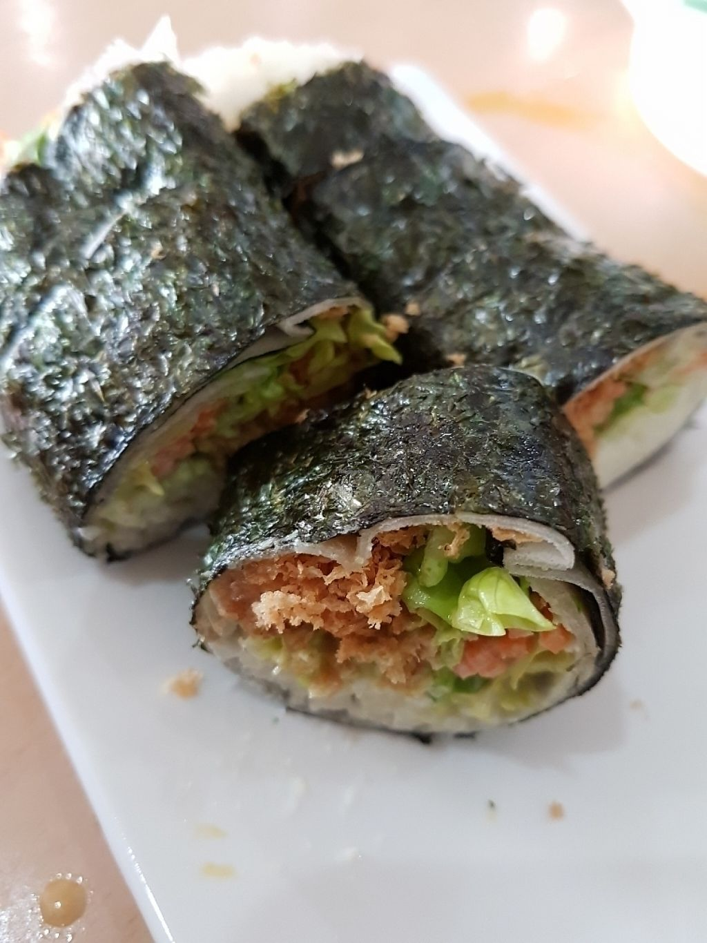 """Photo of Jing Si Vegetarian  by <a href=""""/members/profile/Raycklim01%40gmail.com"""">Raycklim01@gmail.com</a> <br/>sushi Popiah  <br/> May 9, 2017  - <a href='/contact/abuse/image/19728/257314'>Report</a>"""