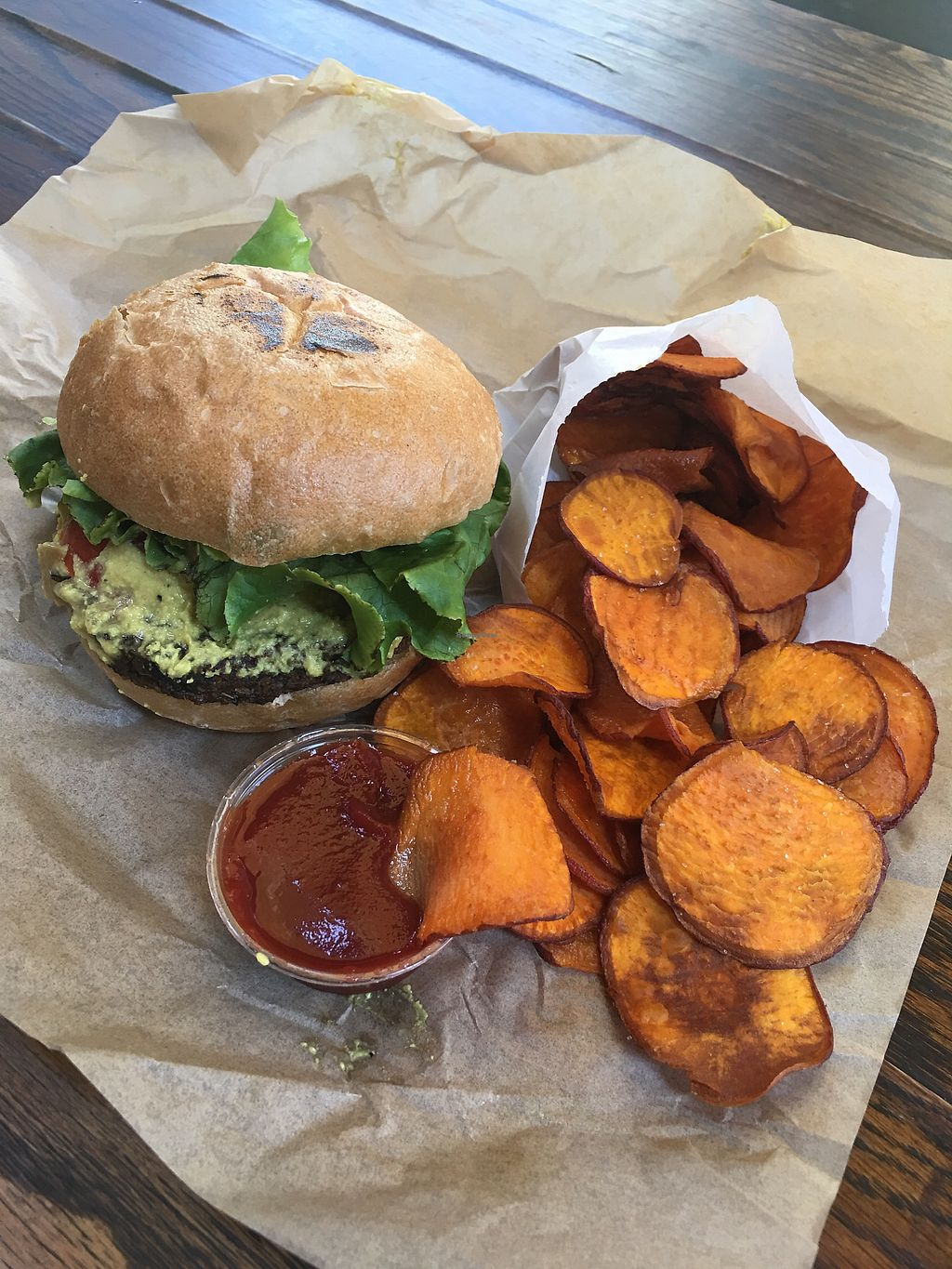 """Photo of Evolution Fast Food  by <a href=""""/members/profile/Lydiacroson"""">Lydiacroson</a> <br/>Awesome cruelty free food!  <br/> August 30, 2017  - <a href='/contact/abuse/image/19731/299096'>Report</a>"""