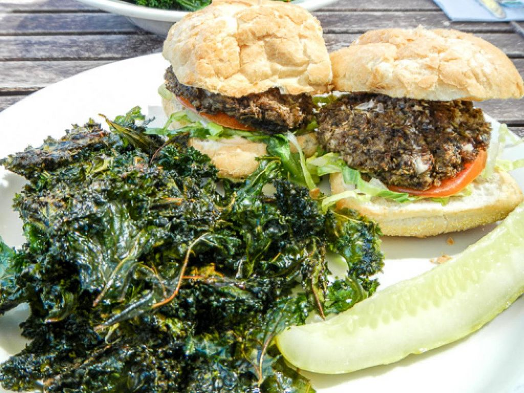 """Photo of The Green Owl Cafe  by <a href=""""/members/profile/EverydayTastiness"""">EverydayTastiness</a> <br/>Crabby Cake Po'Boys <br/> April 19, 2015  - <a href='/contact/abuse/image/19743/99567'>Report</a>"""