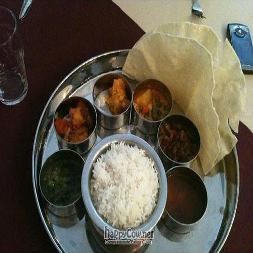 "Photo of Indian Melody  by <a href=""/members/profile/Petrina"">Petrina</a> <br/>Lovely Vegan Curry Sampler <br/> May 16, 2010  - <a href='/contact/abuse/image/19744/4525'>Report</a>"