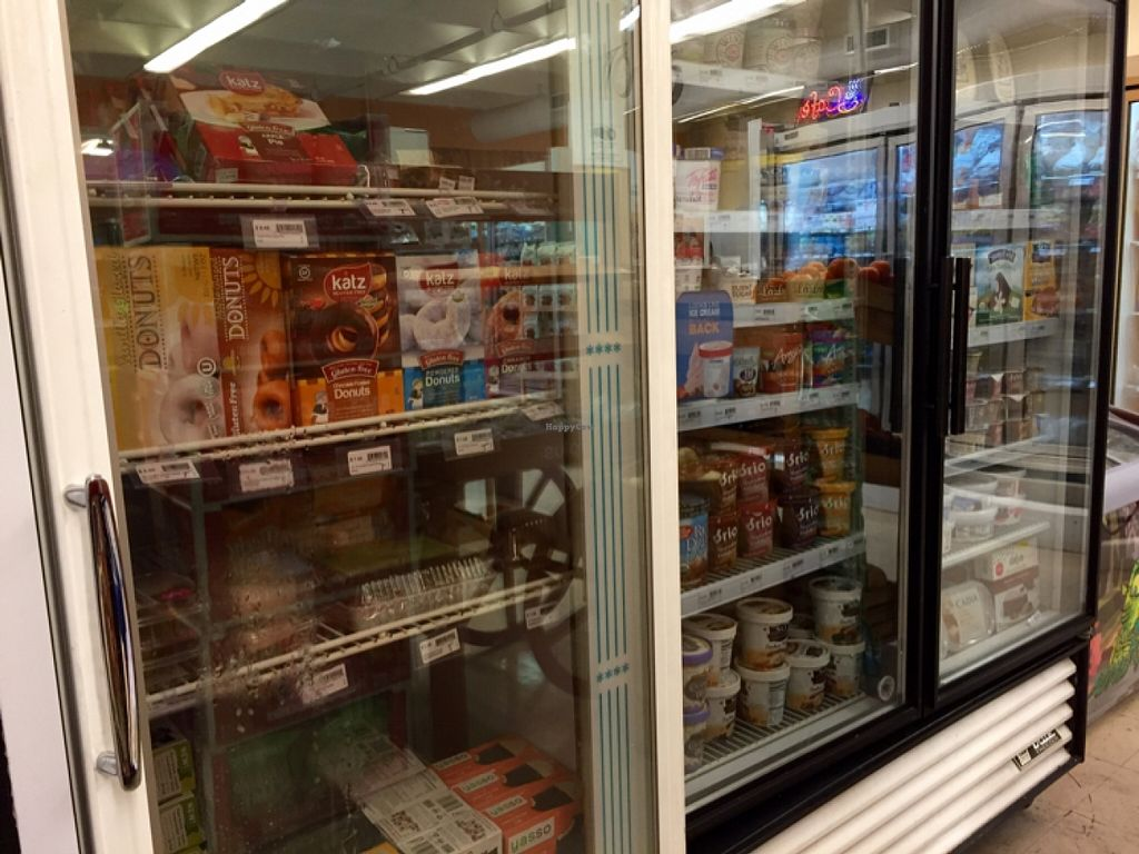 """Photo of Nature's Market  by <a href=""""/members/profile/clovely.vegan"""">clovely.vegan</a> <br/>Frozen desserts.  <br/> November 2, 2015  - <a href='/contact/abuse/image/19746/123520'>Report</a>"""