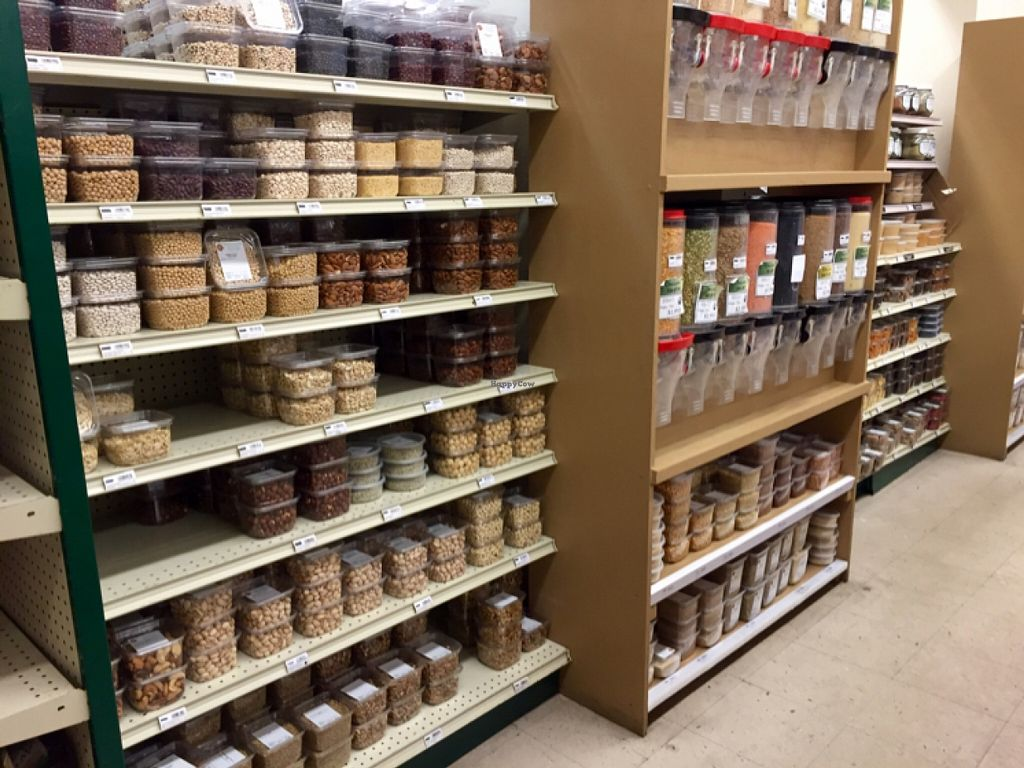 """Photo of Nature's Market  by <a href=""""/members/profile/clovely.vegan"""">clovely.vegan</a> <br/>Nuts and bulk.  <br/> November 2, 2015  - <a href='/contact/abuse/image/19746/123521'>Report</a>"""