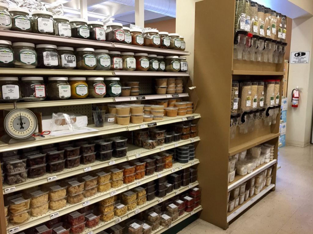 """Photo of Nature's Market  by <a href=""""/members/profile/clovely.vegan"""">clovely.vegan</a> <br/>Bulk, nut butters, dried fruits.  <br/> November 2, 2015  - <a href='/contact/abuse/image/19746/123522'>Report</a>"""