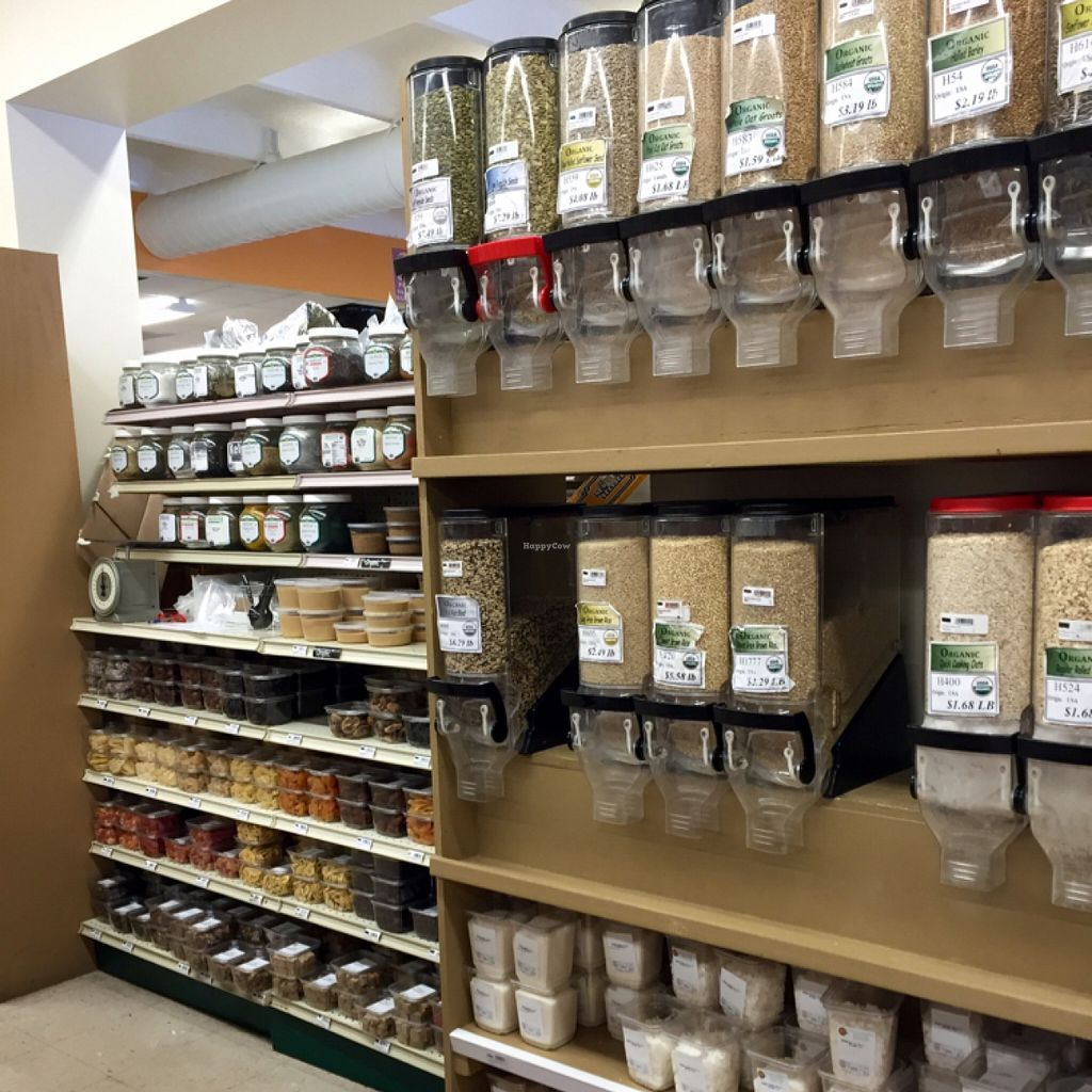 """Photo of Nature's Market  by <a href=""""/members/profile/clovely.vegan"""">clovely.vegan</a> <br/>Bulk, nut butters, dried fruits.  <br/> November 2, 2015  - <a href='/contact/abuse/image/19746/123523'>Report</a>"""