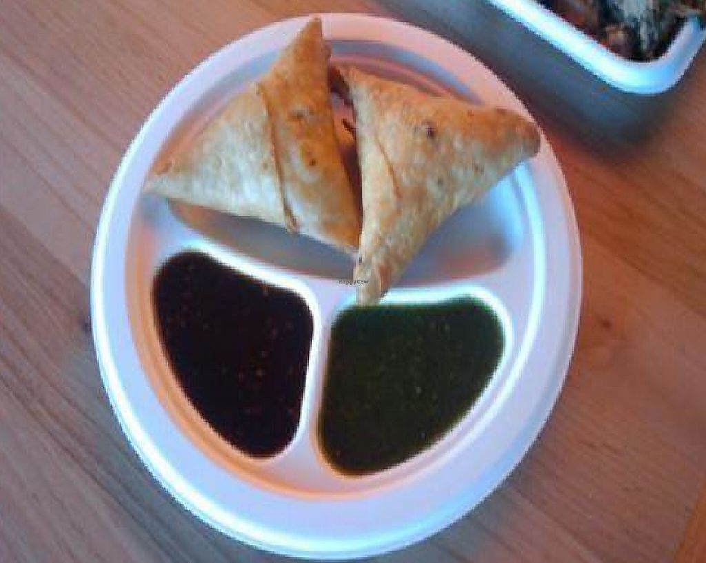 """Photo of Samosa House East  by <a href=""""/members/profile/eric"""">eric</a> <br/>Samosas- yummm! <br/> December 21, 2009  - <a href='/contact/abuse/image/19754/194850'>Report</a>"""