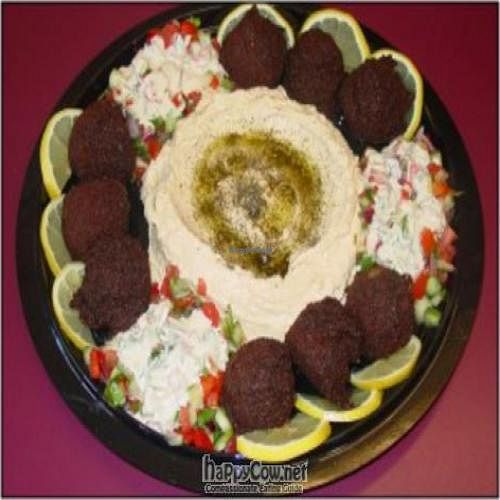 """Photo of Expressly Leslie Vegetarian Specialties  by <a href=""""/members/profile/LeslieCook%28s%29"""">LeslieCook(s)</a> <br/>Yummy falafel! Amazing in a pocket with hummus, Jerusalem salad, tahina dressing and z'hug (hot sauce) or harif (hotter sauce).   <br/> February 14, 2011  - <a href='/contact/abuse/image/19757/7415'>Report</a>"""