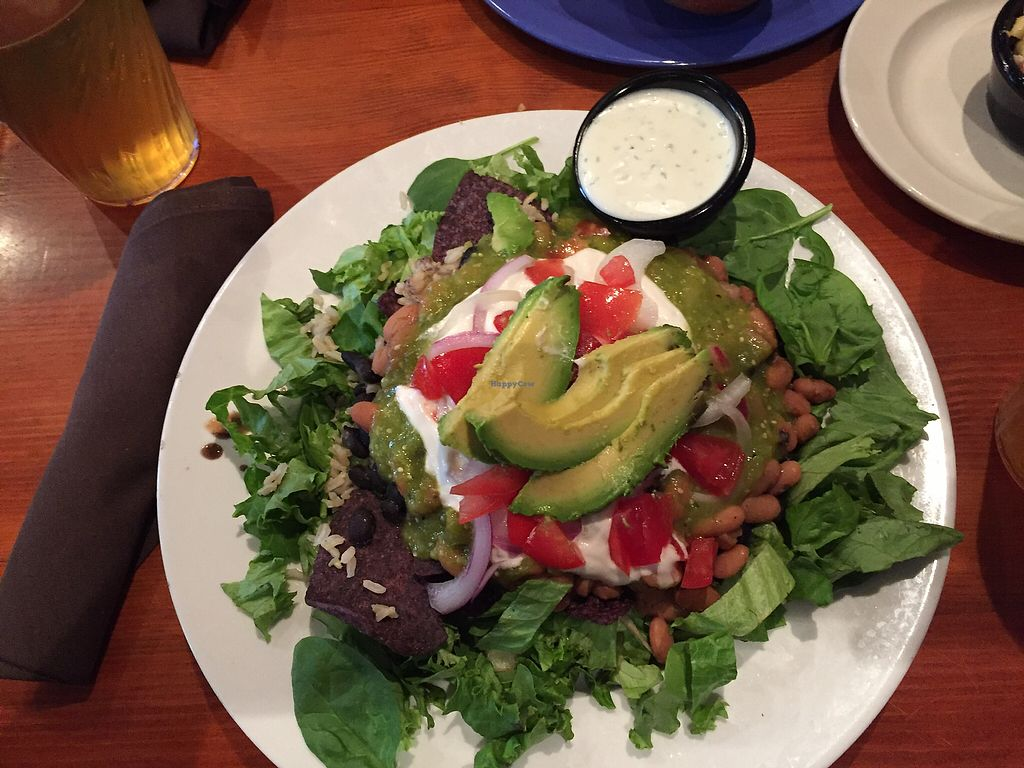 """Photo of The Wild Cow  by <a href=""""/members/profile/aWiiPeanut"""">aWiiPeanut</a> <br/>taco salad with avocado <br/> August 11, 2017  - <a href='/contact/abuse/image/19759/291418'>Report</a>"""