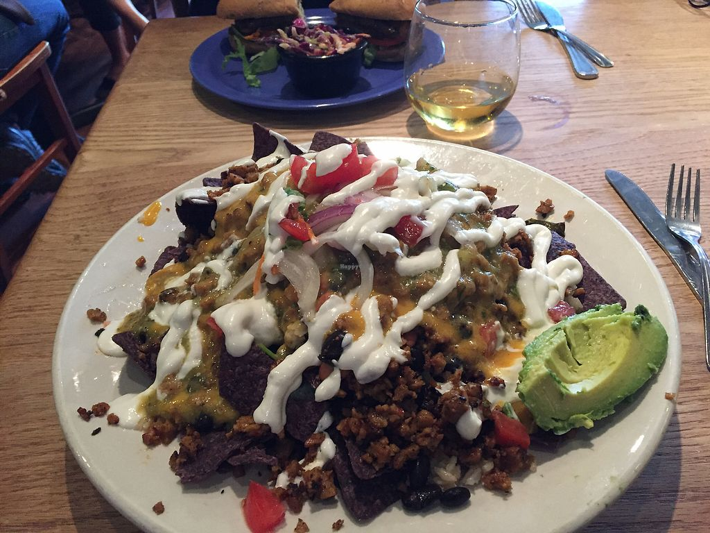 """Photo of The Wild Cow  by <a href=""""/members/profile/HappyHeart"""">HappyHeart</a> <br/>Nachos with chorizo  <br/> September 11, 2017  - <a href='/contact/abuse/image/19759/303357'>Report</a>"""