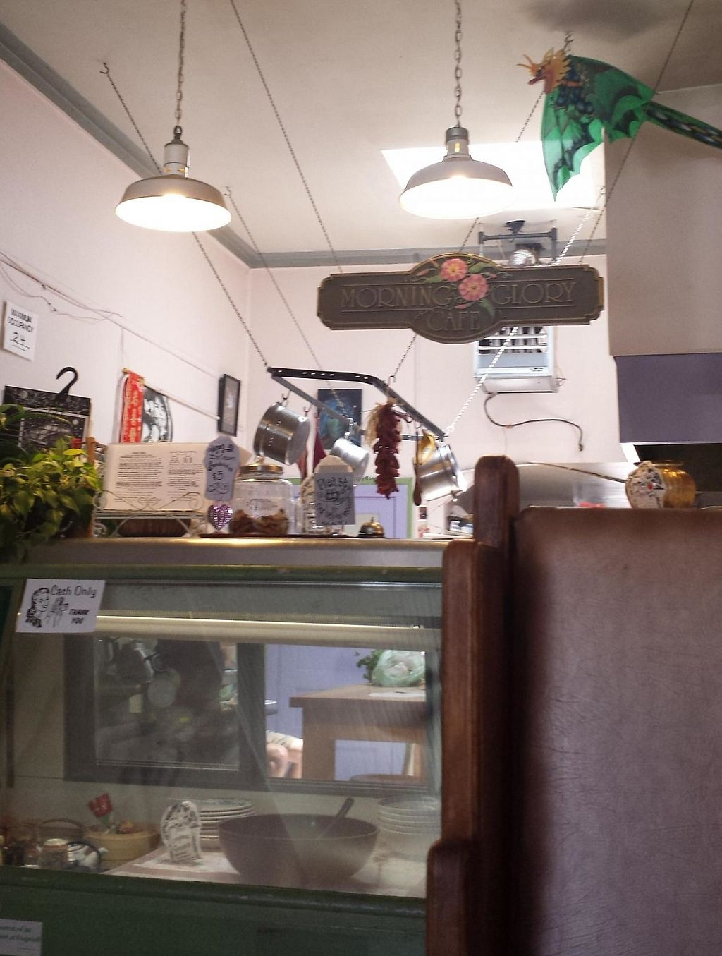 """Photo of Morning Glory Cafe  by <a href=""""/members/profile/ea"""">ea</a> <br/>front counter <br/> June 7, 2014  - <a href='/contact/abuse/image/19776/190291'>Report</a>"""