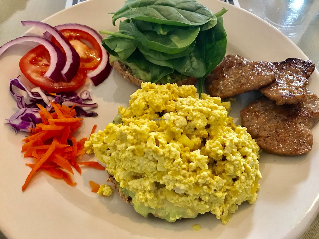 Photo of Morning Glory Cafe  by _Dharma <br/>Breakfast sandwich with heart shaped vegan sausage ✨ <br/> November 17, 2017  - <a href='/contact/abuse/image/19776/326309'>Report</a>