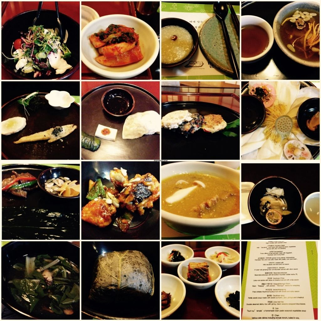 """Photo of Balwoo Gongyang - 발우공양  by <a href=""""/members/profile/Food1e"""">Food1e</a> <br/>Enlightenment menu <br/> April 3, 2016  - <a href='/contact/abuse/image/19777/142560'>Report</a>"""