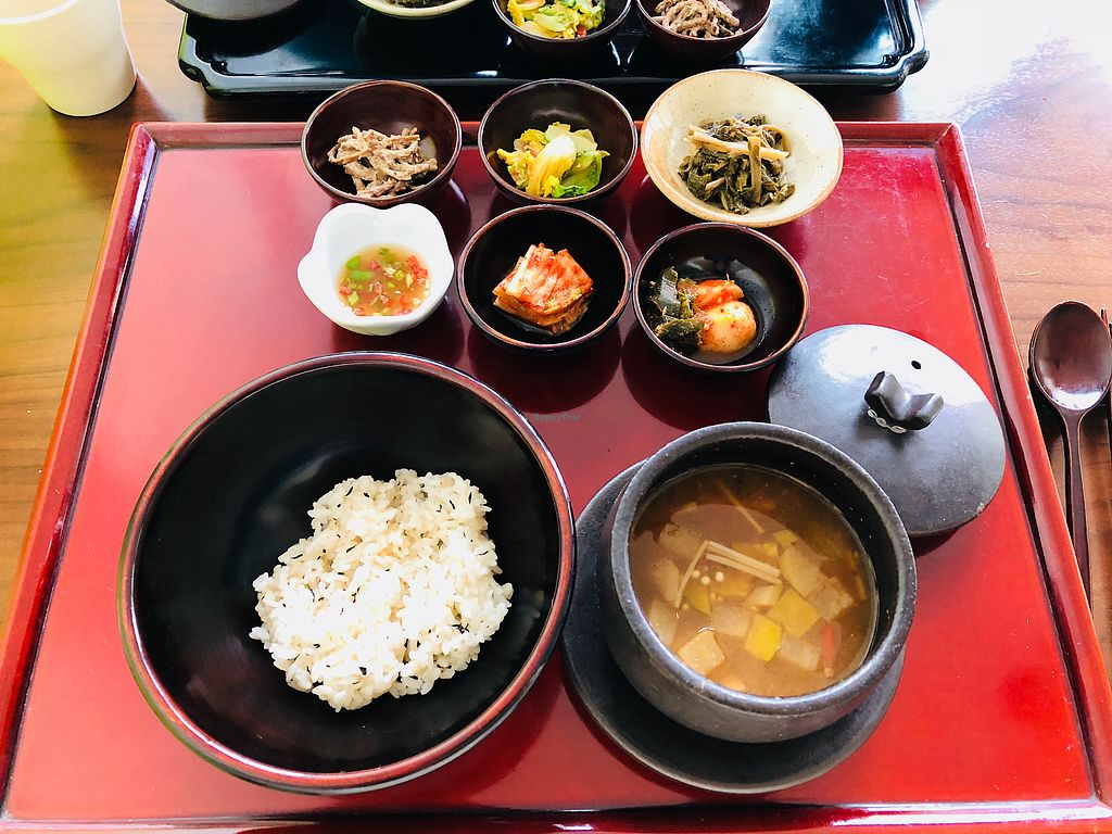 """Photo of Balwoo Gongyang - 발우공양  by <a href=""""/members/profile/BCsin"""">BCsin</a> <br/>Winter Main course <br/> December 31, 2017  - <a href='/contact/abuse/image/19777/341152'>Report</a>"""