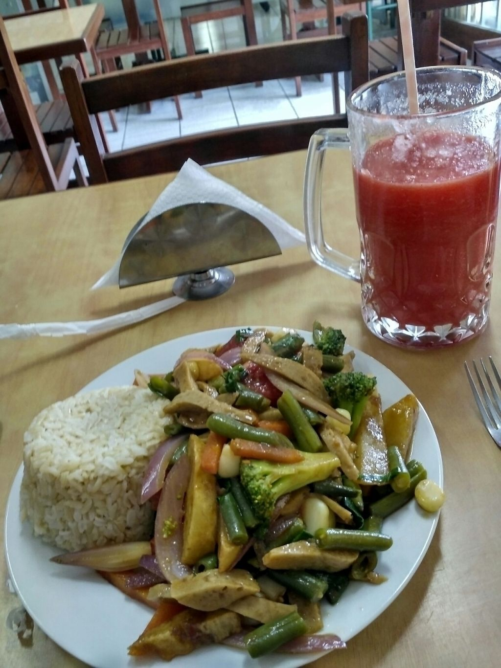 """Photo of Vida Sana - Jesus Maria  by <a href=""""/members/profile/Niko"""">Niko</a> <br/>food was super delicious <br/> February 7, 2017  - <a href='/contact/abuse/image/19783/224068'>Report</a>"""