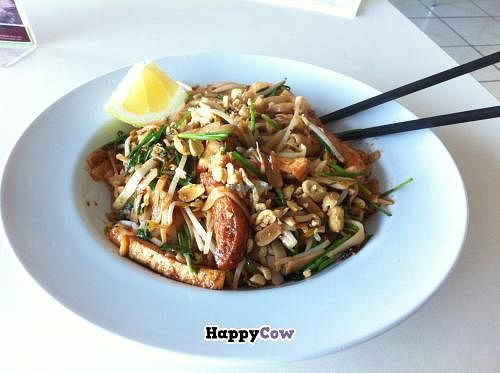 """Photo of CLOSED: Loving Hut - Huntington Beach  by <a href=""""/members/profile/H"""">H</a> <br/>Pad Thai <br/> November 6, 2013  - <a href='/contact/abuse/image/19789/58001'>Report</a>"""