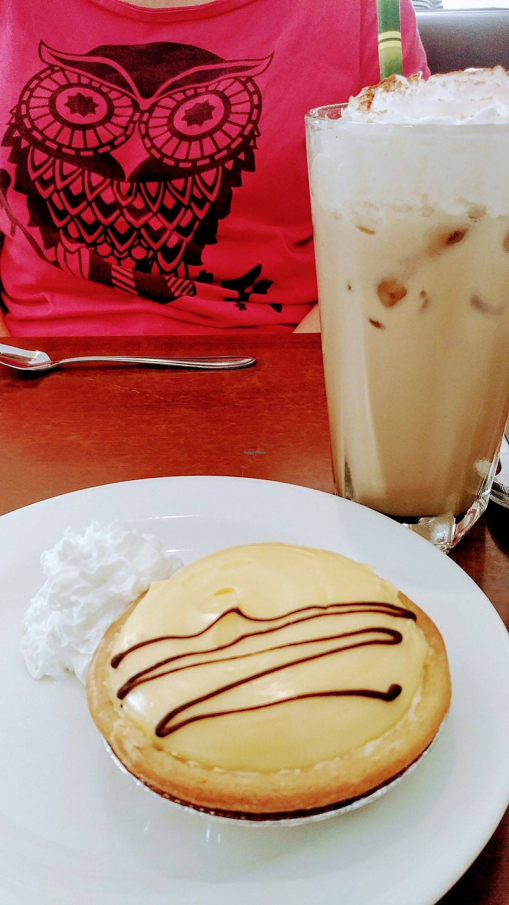 """Photo of The Green Edge Store and Cafe  by <a href=""""/members/profile/karlaess"""">karlaess</a> <br/>Lemon tart and iced coffee <br/> January 7, 2018  - <a href='/contact/abuse/image/19791/343948'>Report</a>"""