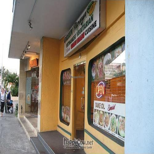 """Photo of Green Papaya Vietnamese Vegetarian  by <a href=""""/members/profile/cvxmelody"""">cvxmelody</a> <br/>outside <br/> July 2, 2010  - <a href='/contact/abuse/image/19851/5021'>Report</a>"""