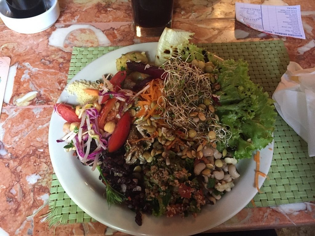 """Photo of Refeitorio Organico  by <a href=""""/members/profile/Paolla"""">Paolla</a> <br/>Some of the salads options <br/> July 31, 2016  - <a href='/contact/abuse/image/19852/163929'>Report</a>"""