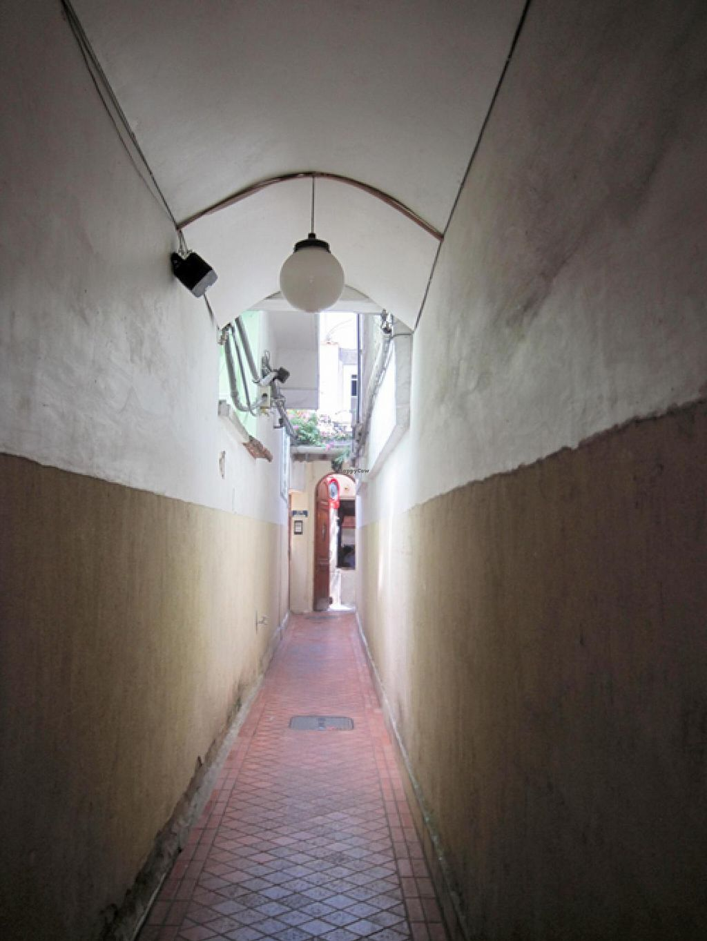 """Photo of Refeitorio Organico  by <a href=""""/members/profile/Babette"""">Babette</a> <br/>Passageway leading to the restaurant <br/> January 8, 2015  - <a href='/contact/abuse/image/19852/89803'>Report</a>"""