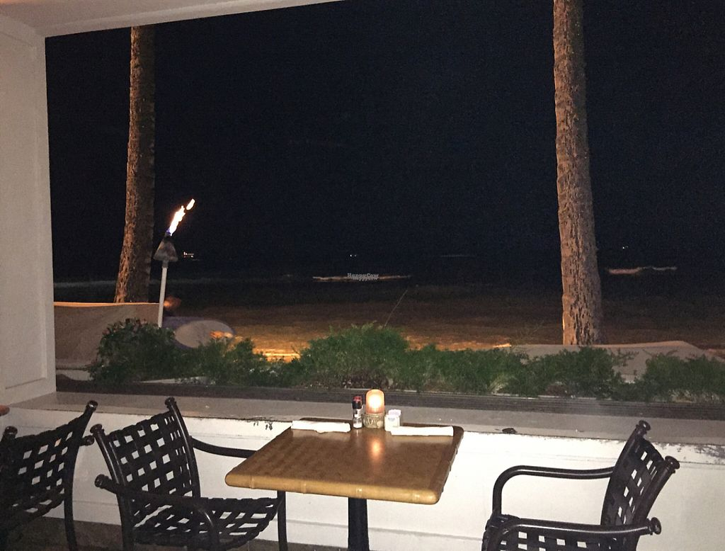 """Photo of CLOSED: Shore Bird Restaurant and Beach Bar  by <a href=""""/members/profile/Terry404"""">Terry404</a> <br/>on the beach  <br/> September 18, 2016  - <a href='/contact/abuse/image/19856/199320'>Report</a>"""