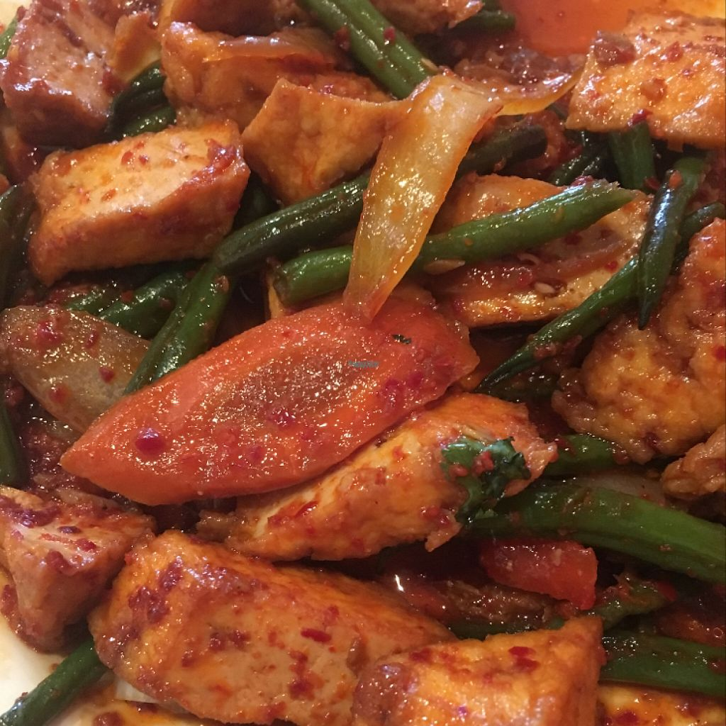 """Photo of Long Beach Cafe  by <a href=""""/members/profile/JessicaTree"""">JessicaTree</a> <br/>Green Bean Tofu <br/> April 29, 2017  - <a href='/contact/abuse/image/19858/253843'>Report</a>"""