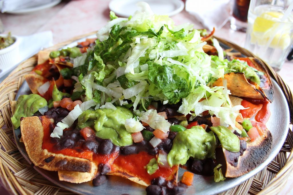 """Photo of Sneaky Dee's  by <a href=""""/members/profile/MSVeganGal"""">MSVeganGal</a> <br/>Vegan nachos <br/> March 7, 2018  - <a href='/contact/abuse/image/19871/367825'>Report</a>"""