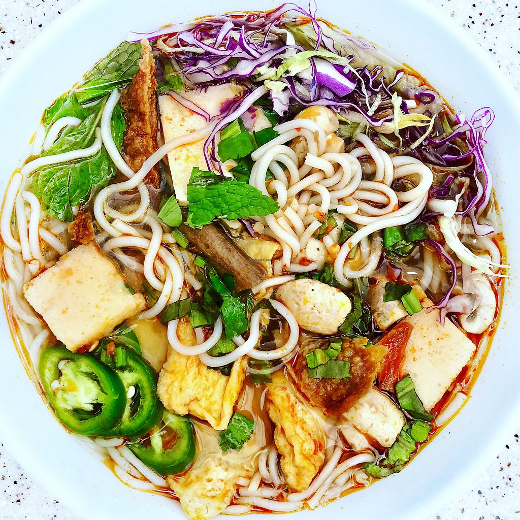 "Photo of Thien Tam  by <a href=""/members/profile/josephsuar"">josephsuar</a> <br/>Delicious Vegan Soup  <br/> April 11, 2018  - <a href='/contact/abuse/image/19882/383620'>Report</a>"