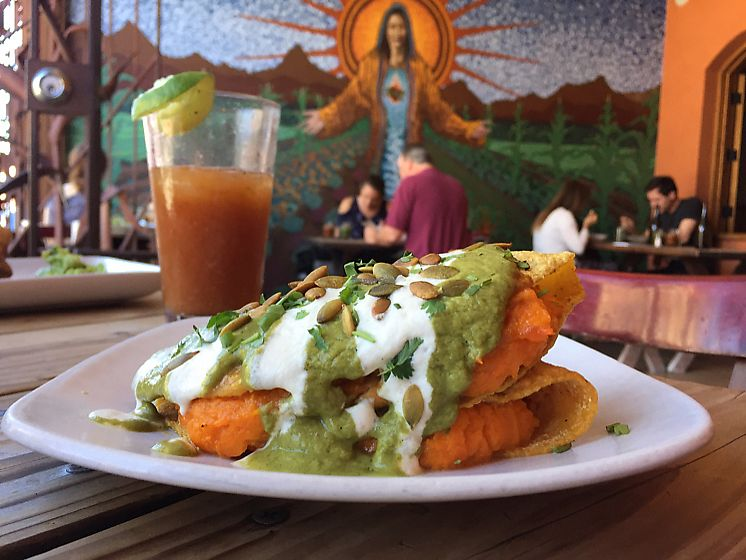 """Photo of Gracias Madre  by <a href=""""/members/profile/Bea_lc"""">Bea_lc</a> <br/>sweet potato quesadilla  <br/> June 28, 2017  - <a href='/contact/abuse/image/19889/274415'>Report</a>"""