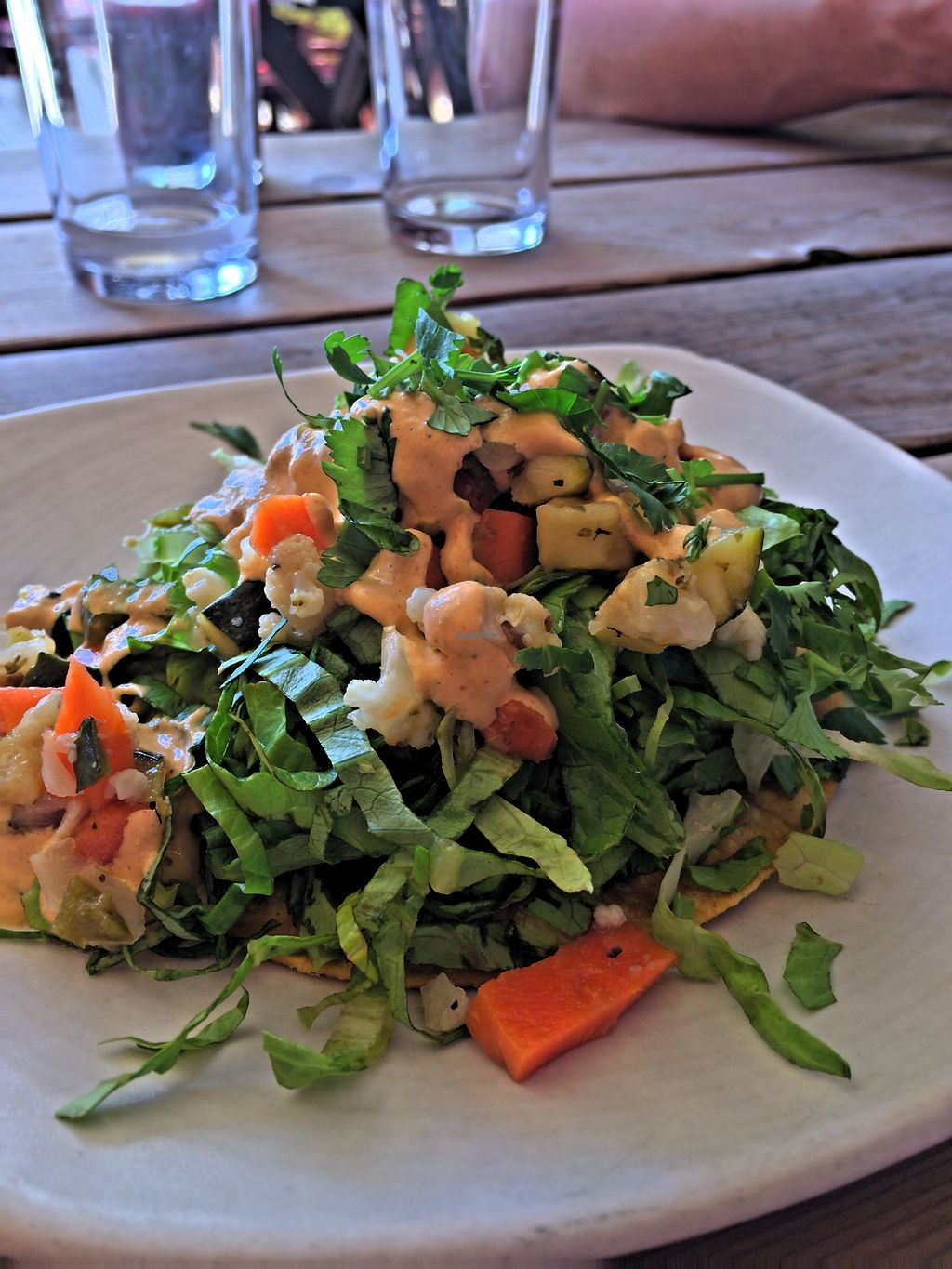 """Photo of Gracias Madre  by <a href=""""/members/profile/EthanBungay"""">EthanBungay</a> <br/>Delicious Tostada <br/> April 18, 2018  - <a href='/contact/abuse/image/19889/387466'>Report</a>"""