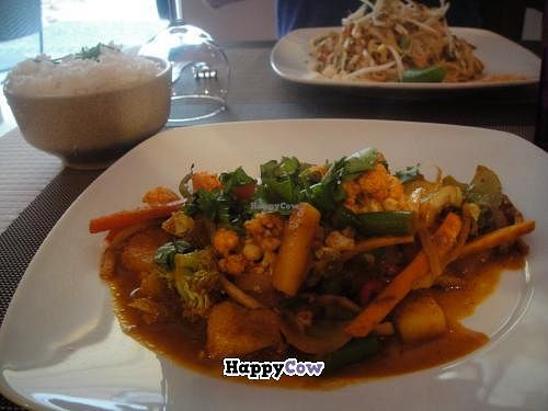 """Photo of CLOSED: Lemon Grass  by <a href=""""/members/profile/Icahlua"""">Icahlua</a> <br/>Vegetable Jungle Curry w/ Steamed Rice <br/> August 31, 2013  - <a href='/contact/abuse/image/19913/54105'>Report</a>"""
