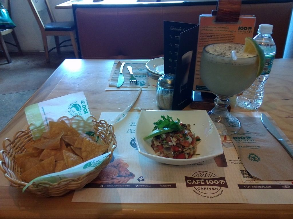 """Photo of 100% Natural  by <a href=""""/members/profile/Ryecatcher"""">Ryecatcher</a> <br/>nachos with garnish <br/> January 9, 2016  - <a href='/contact/abuse/image/19921/131747'>Report</a>"""