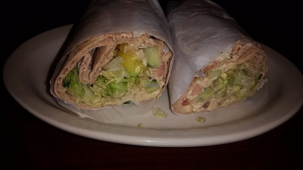 """Photo of The Olive Tree Mediterranean Cafe  by <a href=""""/members/profile/CorissaMarie"""">CorissaMarie</a> <br/>The hummus wrap <br/> April 9, 2017  - <a href='/contact/abuse/image/19941/246208'>Report</a>"""