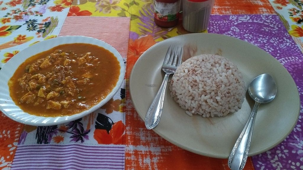 "Photo of Whole Bean Veganic Food  by <a href=""/members/profile/Gilogie"">Gilogie</a> <br/>Toffu curry with rice <br/> January 24, 2017  - <a href='/contact/abuse/image/20024/215707'>Report</a>"