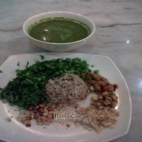 """Photo of Vege Life Cafe  by <a href=""""/members/profile/CovertOps78"""">CovertOps78</a> <br/>Green Tea Rice at Vegelife Cafe <br/> May 17, 2010  - <a href='/contact/abuse/image/20047/4533'>Report</a>"""
