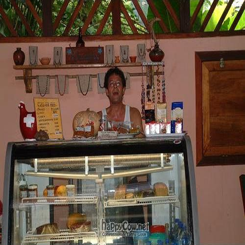 """Photo of Jardin Del Angel  by <a href=""""/members/profile/Savona"""">Savona</a> <br/>Owner Jean-Pierre Keller serving up my favorite morning treat (fresh and handmade)! <br/> February 19, 2011  - <a href='/contact/abuse/image/20084/7478'>Report</a>"""