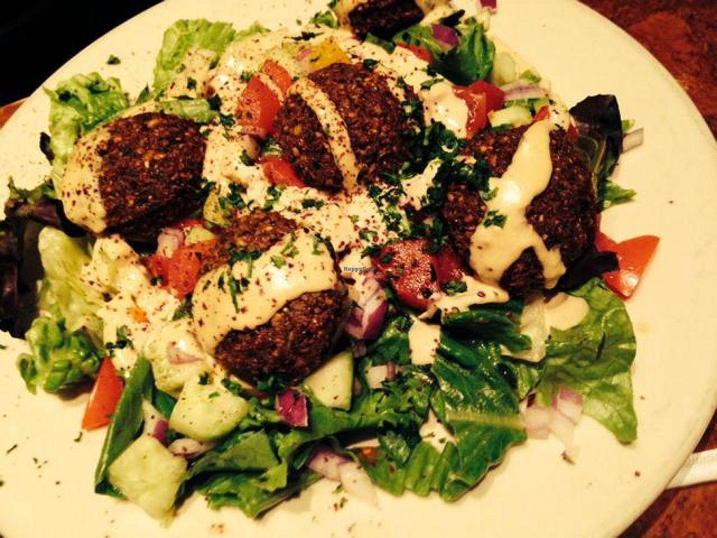 "Photo of Pita Jungle  by <a href=""/members/profile/PinkOrca"">PinkOrca</a> <br/>falafel salad <br/> April 29, 2014  - <a href='/contact/abuse/image/20089/68981'>Report</a>"