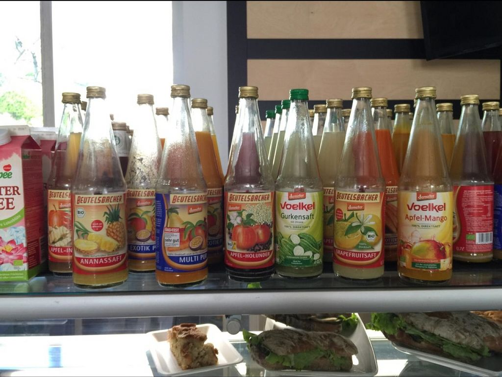"""Photo of Sapori Bio  by <a href=""""/members/profile/babytrotters"""">babytrotters</a> <br/>wonderful and tasty juices :) <br/> April 24, 2015  - <a href='/contact/abuse/image/20159/100094'>Report</a>"""