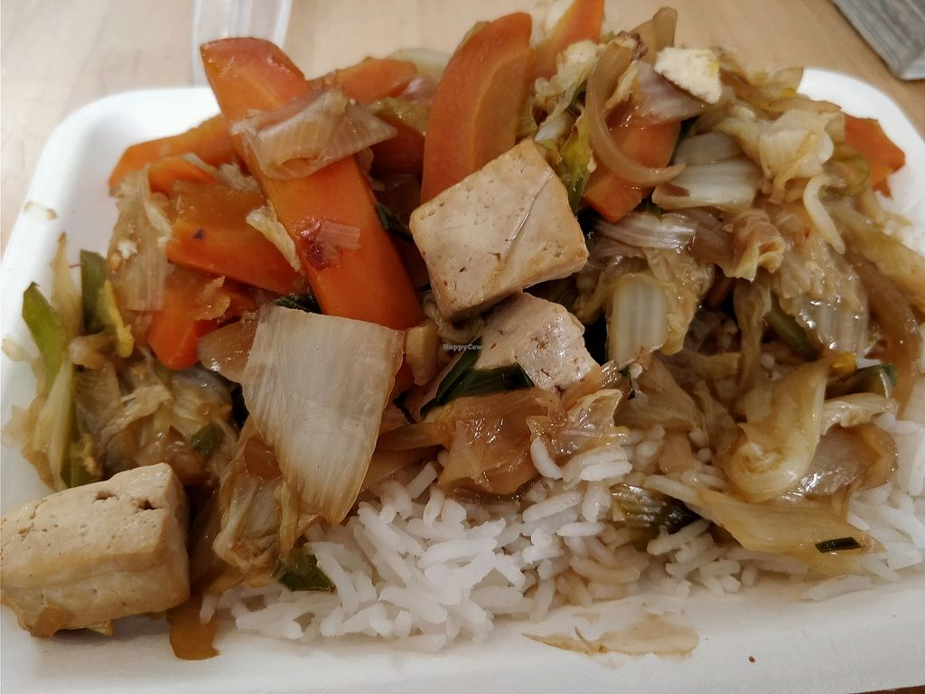 """Photo of Sapori Bio  by <a href=""""/members/profile/JimmySeah"""">JimmySeah</a> <br/>tofu Chinese rice <br/> April 5, 2018  - <a href='/contact/abuse/image/20159/381221'>Report</a>"""