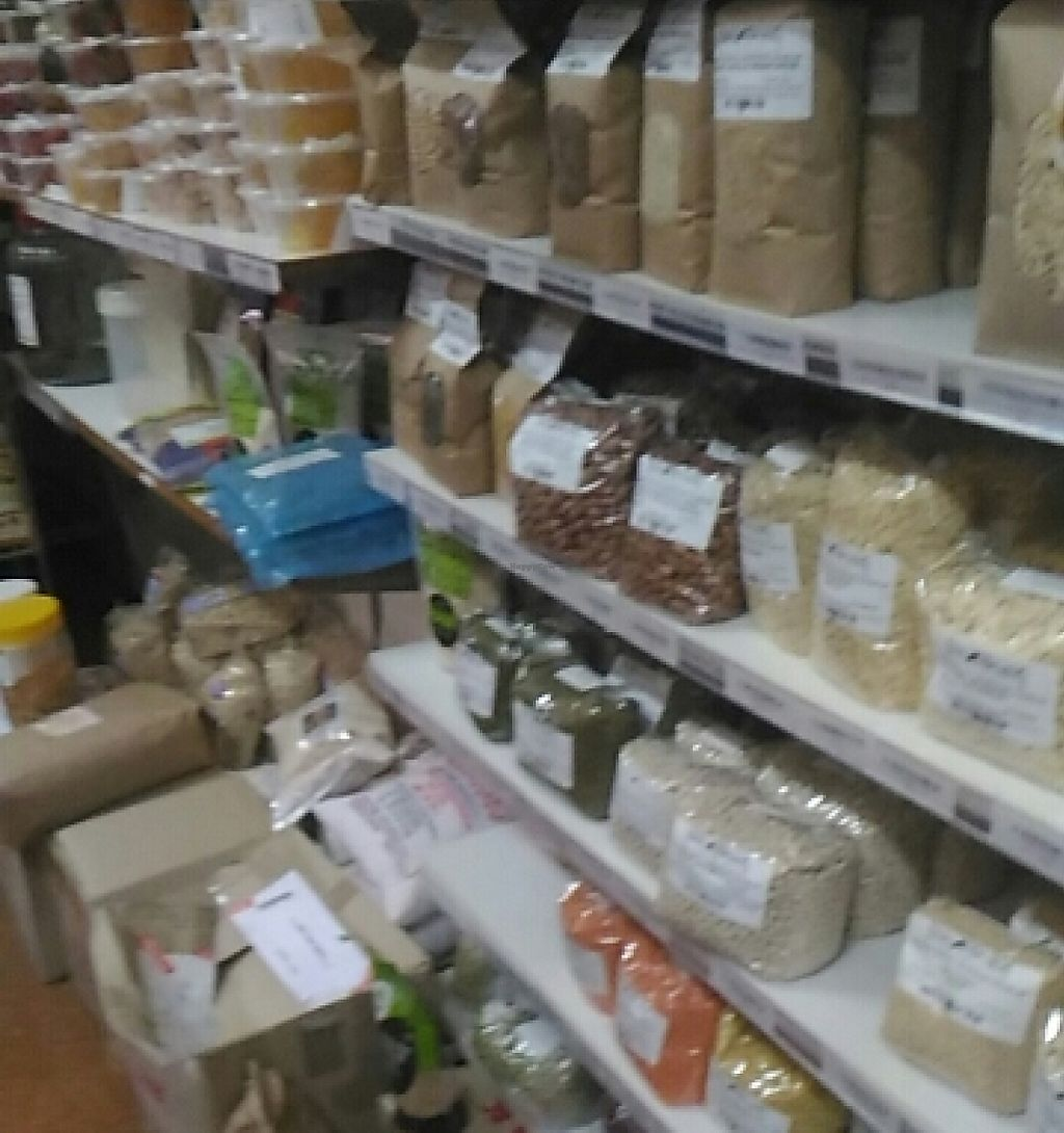 """Photo of Natural Tucker Cafe and Health Foods  by <a href=""""/members/profile/lululemon"""">lululemon</a> <br/>Bulk goods <br/> November 22, 2015  - <a href='/contact/abuse/image/20203/251683'>Report</a>"""