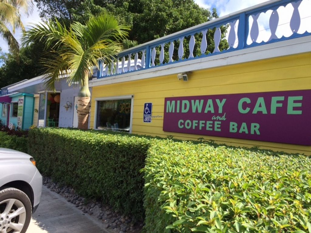 """Photo of Midway Cafe and Coffee Bar  by <a href=""""/members/profile/veggylvr"""">veggylvr</a> <br/>Exterior <br/> November 2, 2015  - <a href='/contact/abuse/image/20233/123573'>Report</a>"""