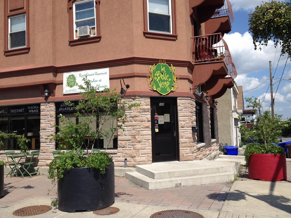 "Photo of La Belle Verte  by <a href=""/members/profile/bananah6"">bananah6</a> <br/>Front of restaurant <br/> July 7, 2014  - <a href='/contact/abuse/image/20235/73448'>Report</a>"
