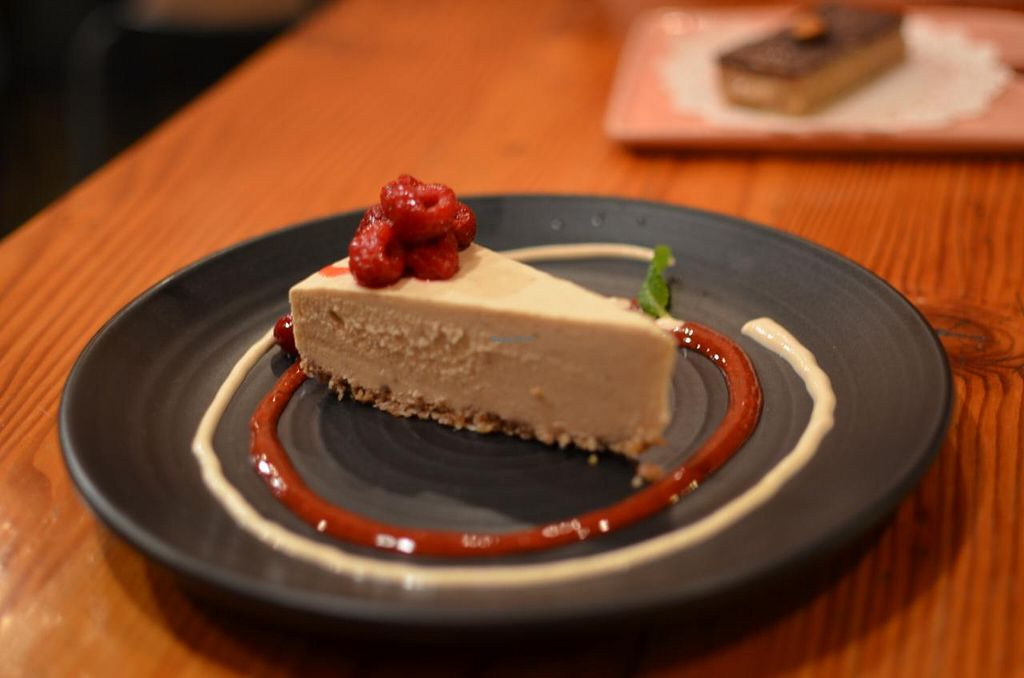 """Photo of Yong Green Food  by <a href=""""/members/profile/chocoholicPhilosophe"""">chocoholicPhilosophe</a> <br/>White chocolate raspberry cheesecake <br/> May 2, 2015  - <a href='/contact/abuse/image/20267/100883'>Report</a>"""